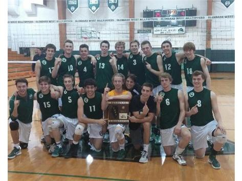 Boys Volleyball Regional Champs 2014!