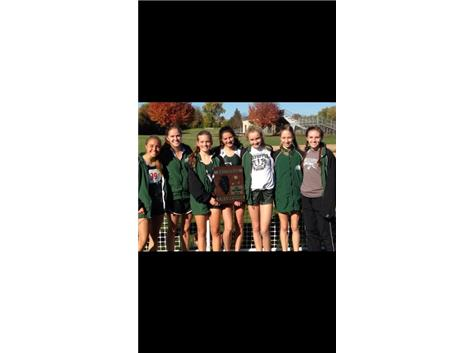 Girls Cross country Regional Champions 2014!!