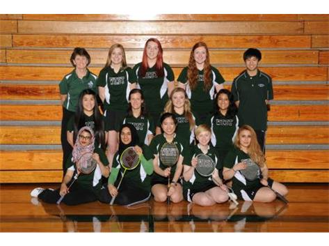2014-2015 Girls Varsity Badminton