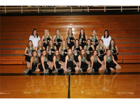 2015-2016 Varsity Dance team.
