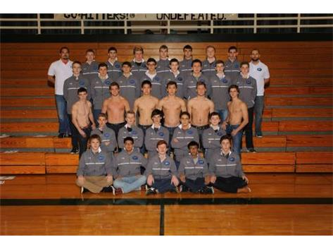 2015-2016 West/South Boys Swim team.