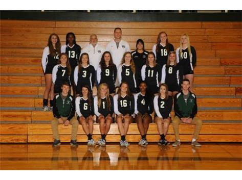 2015-2016 Varsity Girls Volleyball Team