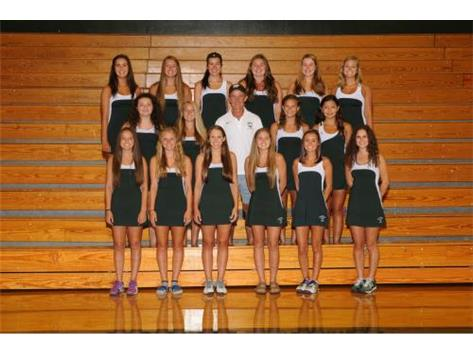 2015-2016 Varsity Girls Tennis Team