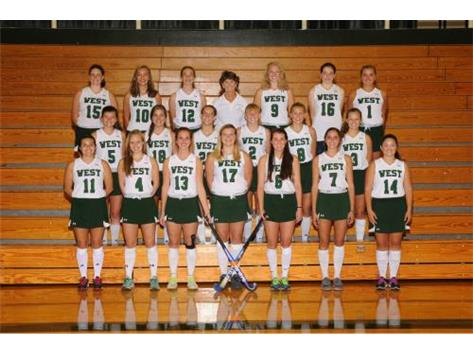 2015-2016 Varsity Fieldhockey Team