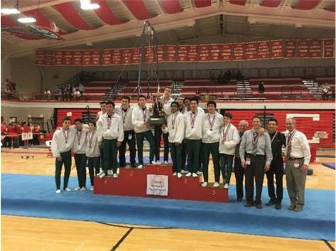 Congratulations 2016 Boys Gymnastics 2nd. In State!
