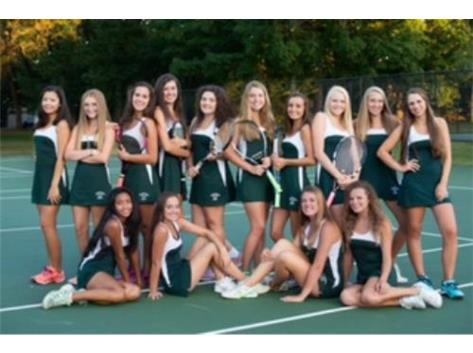 2016 Girls Tennis team.