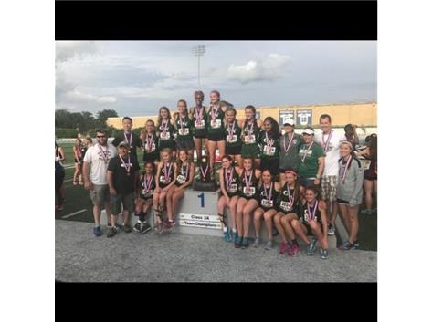2017 Girls Track and Field STATE CHAMPIONS!