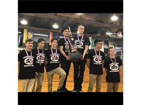 2017 Boys Gymnastics STATE CHAMPIONS!