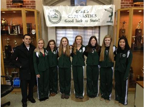 Girls Gymnastics going to State!
