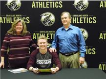 Declan Peterson signs to play baseball with Concordia University - Chicago.