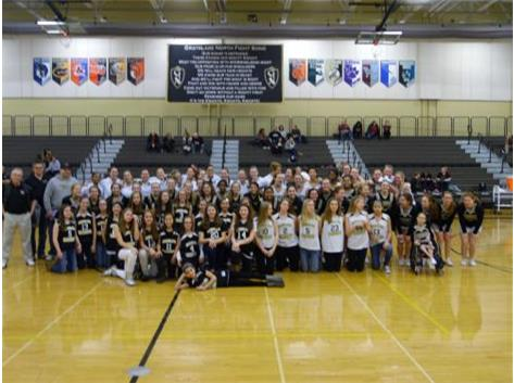 National Girls and Women in Sports Day represented by our Lady Knights and the Knights girls feeder teams.