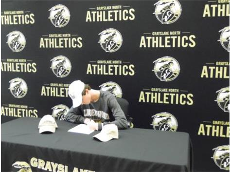 Griffin Patton signs to play lacrosse at Lindenwood University.