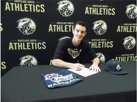 Danny Yates signs to play baseball with College of Lake County