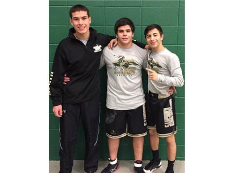 2017 State Qualifiers (Alex Moran, Angel Flores, and Joe Arroyo)