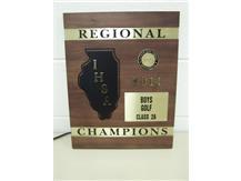 Boys' Varsity Golf win 1st Regional in School History!