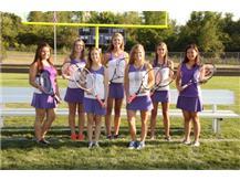 Girls Tennis Seniors 2015-2016