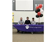 Jacob Oury signs with Arkansas State on 4/21/17.