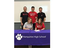 Madelyn Sullivan signs with Benedictine University 4/24/18.