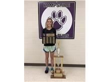 Sophia Oury Wins Female Athlete of the Year and Rose Bihun Booster Club Scholarship 2018