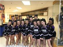 Competitive Cheer at FVC 1/14/19