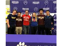 Congratulations to the following athletes for their continuing education.