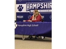 Haley Mohr signs with Concordia 11/13/19.