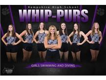 Girls Swim Team Photo 2020