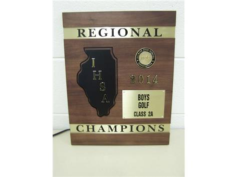 Boys' Varsity Golf win 1st Regional in School History!