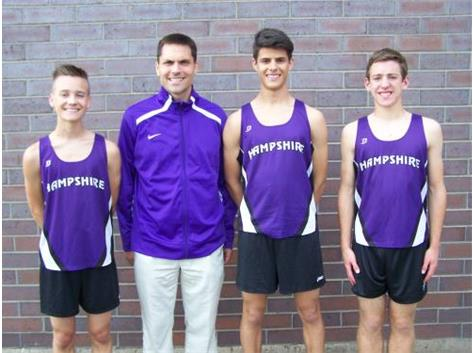 Boys Cross Country Seniors 2015-2016