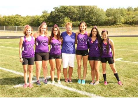 Girls Cross Country Seniors 2015-2016