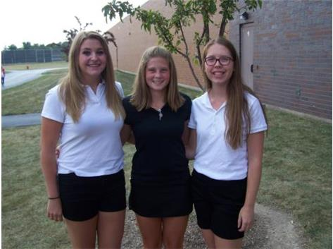 Girls Golf Seniors 2015-2016