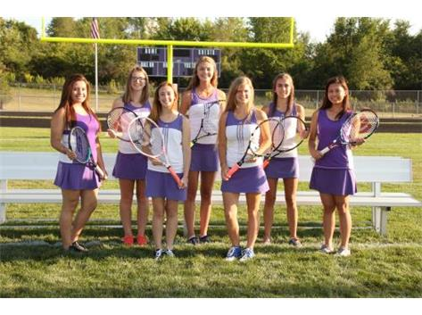 Girls Tennis Seniors 2015-2016