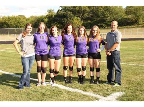 Volleyball Seniors 2015-2016