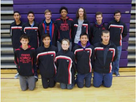 Boys Swim Team 2015-2016