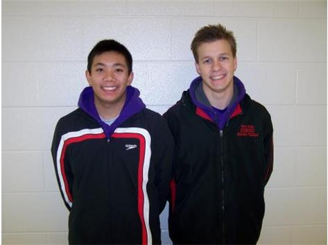 Boys Swim Seniors 2015-2016