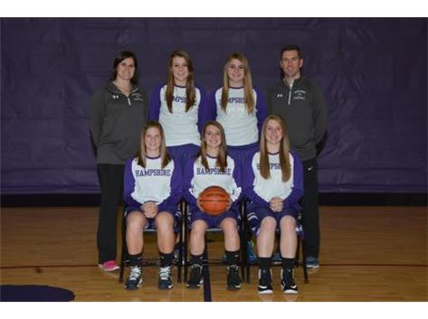 Girls Basketball Seniors 2015-2016