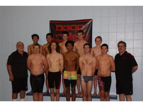 Hampshire Boys Swim Team 15-16