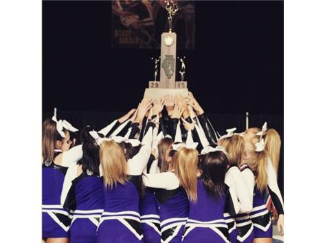 Cheer at State 2015