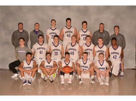 2016-2017 Boys Varsity Basketball