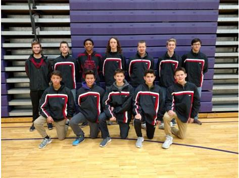 2016-2017 Boys Swim Team