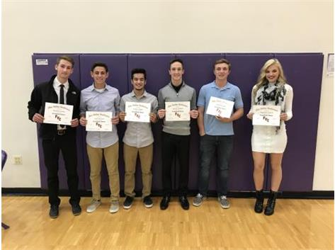 Fall 2017 FVC All Conference Athletes