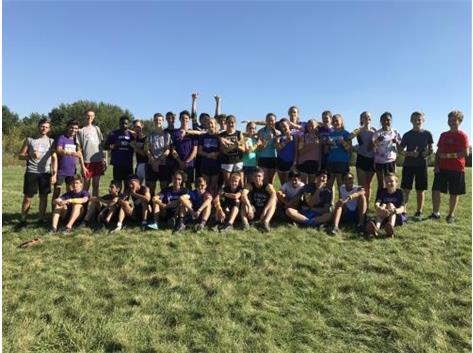 Boys and Girls Cross Country GO GOLD 2018