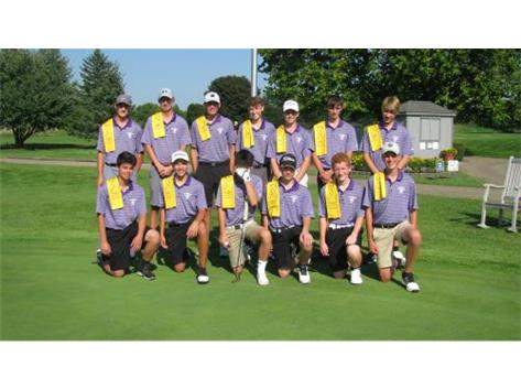 Boys Golf GO GOLD 2018