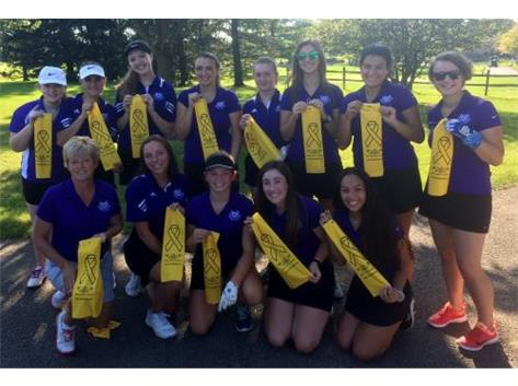 Girls Golf GO GOLD 2018