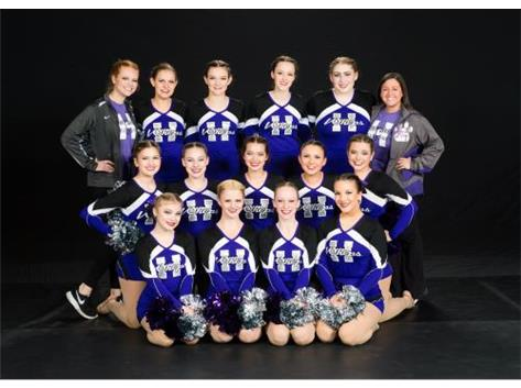 Varsity Dance Team at Huntley