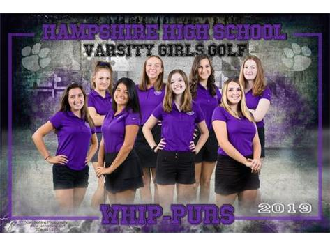 Varsity Girls Golf 2019-2020