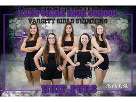 Varsity Girls Swim 2019-2020