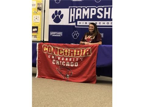 Shai-Ann Currie signs with Concordia 11/13/19.
