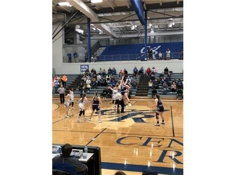 Girls BB at Burlington 2/5/20
