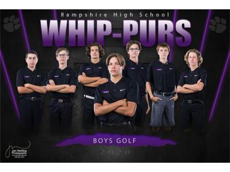 Boys Golf Banner 2020